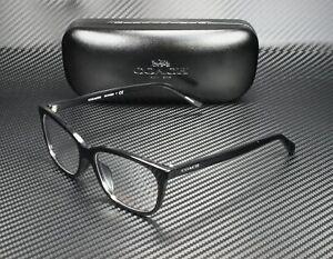 COACH HC6139U 5002 Black Demo Lens 53 mm Women's Eyeglasses
