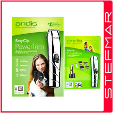 Andis Dog Clippers EasyClip D-4D Cordless PowerTrim Trimmer Pet - AU 240v
