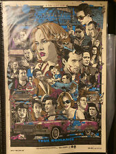 SIGNED REGULAR True Romance TYLER STOUT Limited Movie Screen Print