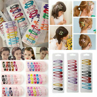 10Pcs/Pack Girls Kids Pin Barrette Hairpin BB Snap Hair Clips Hair Accessories