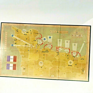 Axis & Allies D-Day 2004 Replacement Pieces Parts Board Game Battle Map Only