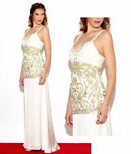 NWT $518 SUE WONG Destination Wedding Dress Bridal gown formal social  IVORY 8