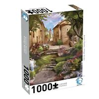 Puzzlers World ~ Artistic Jigsaw 1000pc Puzzle ~ Village Garden