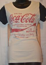 Drink Coca-Cola Atlanta Georgia Ladies Women Top Tshirt sizes 12-24