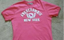 PINK Abercrombie & Fitch t shirt M nuovo senza etichetta