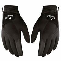 Callaway 2019 Men's Thermal Grip Golf Gloves (Pair), Black, Large