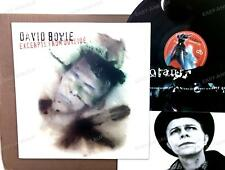 David Bowie - Excerpts From Outside Europe LP 1995 + Innerbag, Insert /3
