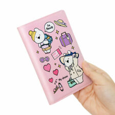 Extremely OVER ACTION RABBIT - Pink Lady Passport Synthetic Leather ID Cover