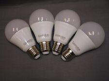 2 x Crompton Twin Pack 6W A60 Shape E27 Base LED Globe Frosted 3000K Warm White