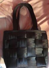 Harvey's Seatbelt Bag Small Black Satchel EUC