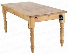 Square Pine Fixed Kitchen & Dining Tables