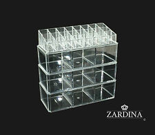 Clear Acrylic Make Up Organiser Storage Box (A9)