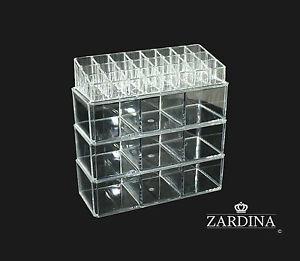 Clear Acrylic Make Up Organiser Storage Box (A9)