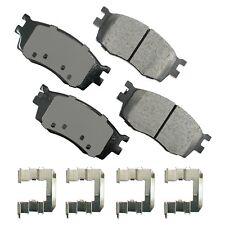 Front ProAct Disc Brake Pads Akebono ACT1156 for Hyundai Accent Kia Rio 2006-11