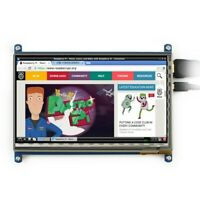 """7"""" Capacitive Touch Screen LCD Display 1024x600 HDMI For Raspberry Pi 4 3B+"""