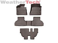 WeatherTech Floor Mats FloorLiner for BMW X5 - 1st/2nd/3rd Row -2014-2017- Cocoa