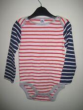 New Ex Baby Boden Mono Jersey Breton Stripe Top 2-3 Años 2 Colores Formas