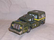 Vintage Tin Litho Tank Toy Lithographed TN Japan US Army