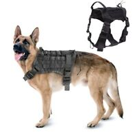 Tactical Molle K9 Dog Coat Military Training Harness Patrol Harness with Handle