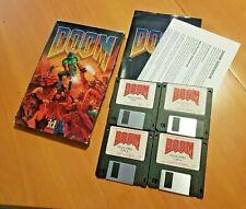 Doom 1.2 id Software 1993 IBM PC Karton Box