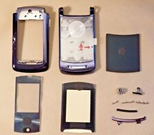 New Motorola Full Housing FacePlate Keypad Lens Battery Door for RAZR2 V8 - BLUE