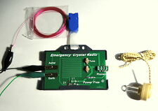 Radio Relay Crystal Radio  DIY KIT  germanium diode  AM receiver