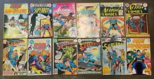 Bronze Age lot of 12 diff DC Comics, All Superman Action Superboy, all pictured