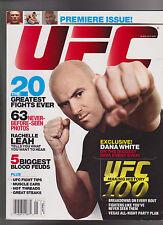 UFC Magazine FIRST ISSUE Summer 2009 Dana White