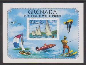 Grenada - 1977, Easter Water Parade (Sport) sheet - MNH - SG MS874