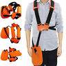 Trimmer Double Shoulder Strap Universal Harness Weed Eater For Stihl Husqvarna