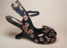 Irregular choice retro style fabric heels size 36