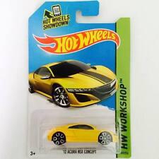 "Hotwheels Honda NSX ""12 ACURA  ( Yellow Sport ) - Hot Pick"
