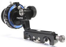 Tilta FF-T03 Follow Focus 15mm rail rod cage rig Canon Nikon Sony Camera Lens