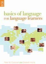 Basics of Language for Language Learners, Instruction, Words & Language, Linguis