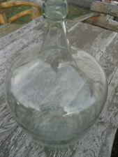 Antiker Weinballon Glasballon Ballonflasche Gärballon Glasballon Klar 10 L