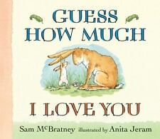 Guess How Much I Love You Lap-Size Board Book by Sam McBratney (2013, Board...