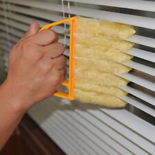 Pratical Yellow Mini Blind Blade Duster Brush Cleaner For Window Door vent hole