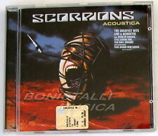 SCORPIONS - ACOUSTICA - CD Nuovo Unplayed