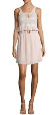 NWT For Love And Lemons Sienna Mini Dress In Dusty Rose Nordstrom Size XS/P $234