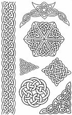 Unmounted Rubber Stamps - Celtic - 5046