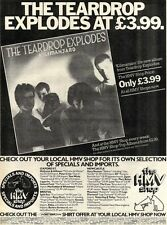 ADVERT TEARDROP EXPLODES KILIMANJARO ALBUM 14X11