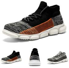 Men's Leisure Sneakers Shoes Sports Outdoor Running Sports Lace up Breathable D