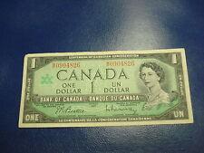 1967 - Canadian $1 bank note - one dollar Canada bill - MP0904826