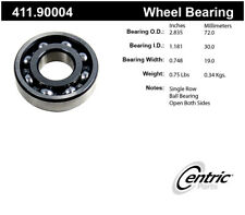 Axle Shaft Bearing Assembly-Premium Centric 411.90004