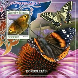 Guinea Bissau MNH, 2017 Butterflies Insects Butterfly. x32629