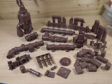 Plastic Warhammer Terrain Promethium Pipes And Other Parts Unpainted (L)