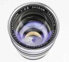 Yashica 100mm f2.8 Super-Yashinon Leica SM  #5910117 ......... Very Rare !!