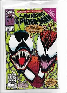THE AMAZING SPIDER-MAN #363 1992 NEAR MINT- 9.2 6120 SPIDER-MAN VENOM CARNAGE
