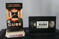 CUBE VHS 1996 Horror Sci-fi  Collectors Movie  Good condition Audio/Video tested