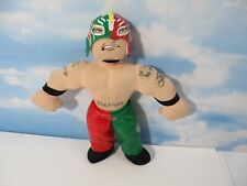 WWE Rey Mysterio Talking Mexican 619 Plush Doll Toy Rare Removable Mask